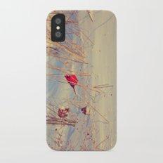 Winter Birds iPhone X Slim Case