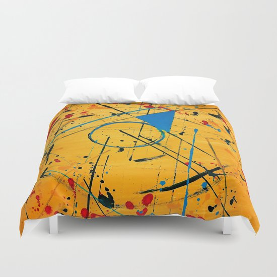 construction no. 2 Duvet Cover
