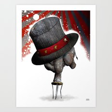 Circus ∫ Animal Surrealism Art Print