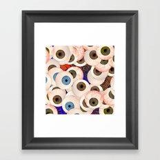 YEUX Framed Art Print