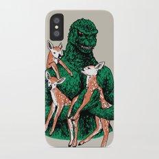 Fawns Meet Kaiju iPhone X Slim Case