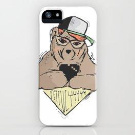 Sozoryoko Original Branding - Fancy Bear iPhone Case
