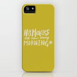 Mercy Morning x Mustard iPhone Case