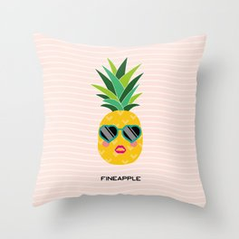 Fineapple Throw Pillow