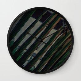 Palm Leaf - Poster Wall Clock