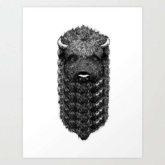 Bi Zone Art Print
