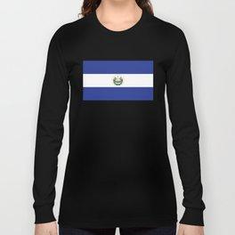 El Salvadorian Flag Long Sleeve T-shirt