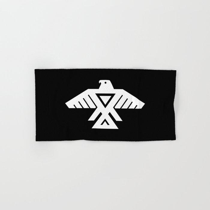 Thunderbird flag - Inverse edition version Hand & Bath Towel
