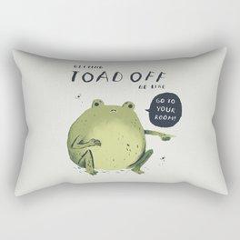 Toad off Rectangular Pillow