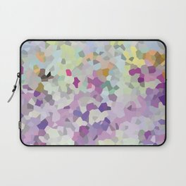 Multi mint and violet crystalized  Laptop Sleeve