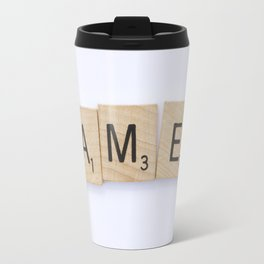GAMED - Letters Travel Mug