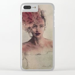 """""""Blossom"""" Clear iPhone Case"""