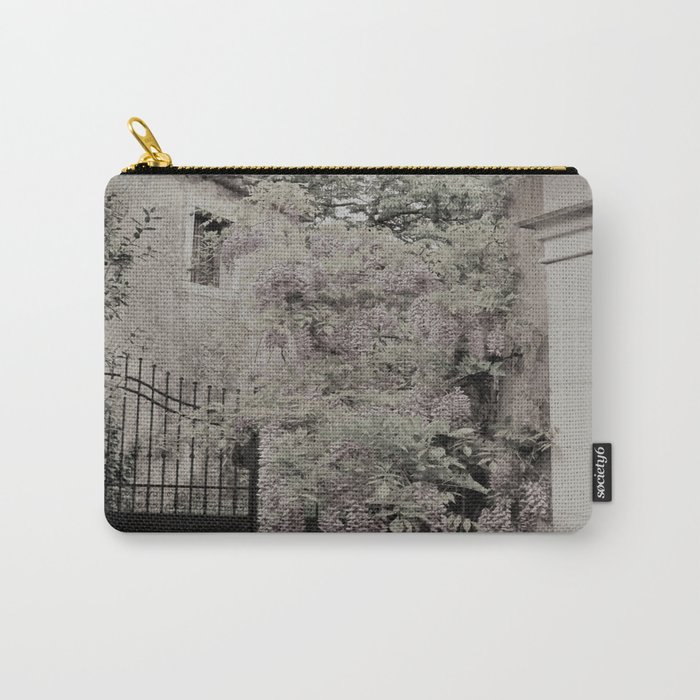 old village garden Carry-All Pouch