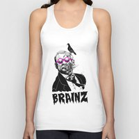 political Tank Tops featuring political zombie theme by Krzysztof Kaluszka