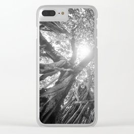 Banyan Tree Clear iPhone Case