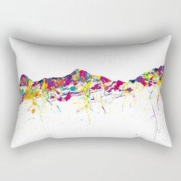 Eiger/Mönch/Jungfrau SWISS mountainsplash Rectangular Pillow