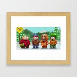 SP Boys Framed Art Print