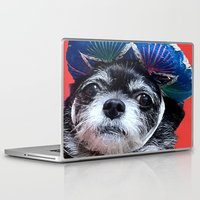 coco Laptop & iPad Skins featuring Coco by MyFavoriteCouture.com