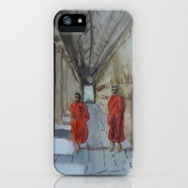 Monk Business iPhone Case