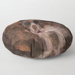 English Springer Spaniel- Steampunk Floor Pillow
