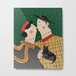 Christmas love Metal Print