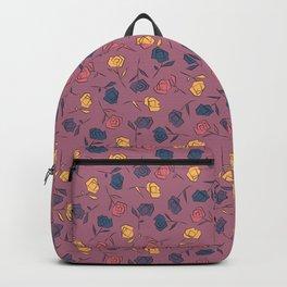 Wild Roses Pattern V.1 Backpack