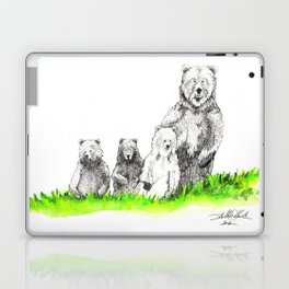 Don't Mess With Momma Bear Laptop & iPad Skin