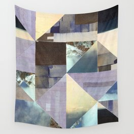 Landscape Collage Wall Tapestry