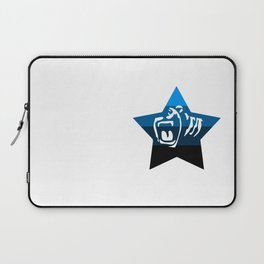 Quad Cali Blue Laptop Sleeve