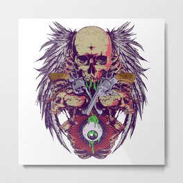 All eyes on me Metal Print