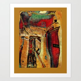 coridors and expanses Art Print