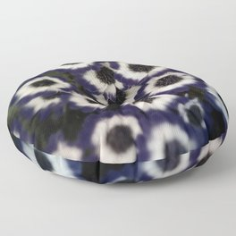Ghostly Gardens Mourning Blues Floor Pillow