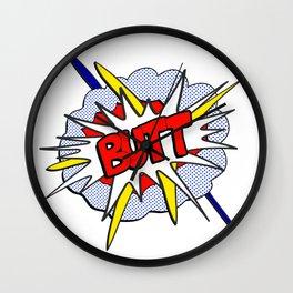 BUTT - Pop Art Style Wall Clock
