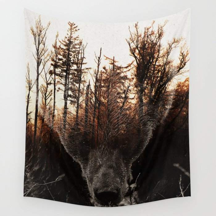 Raw Nature - Stian Norum collab Wall Tapestry