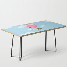 Don't Swallow Your Bubble Gum Coffee Table