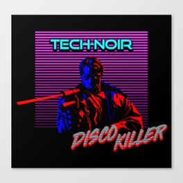 Disco Killer Canvas Print