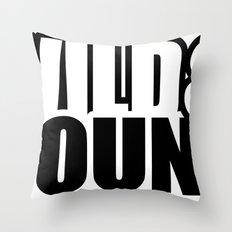 Wild & Young Throw Pillow