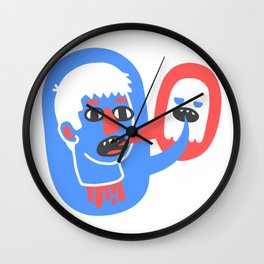 What the lost head sa Wall Clock