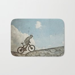 Mountain Biking Bath Mat