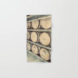 Kentucky Bourbon Barrels Color Photo Hand & Bath Towel