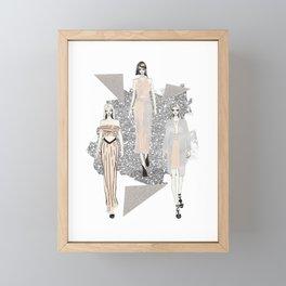 Fashionary 9 Framed Mini Art Print
