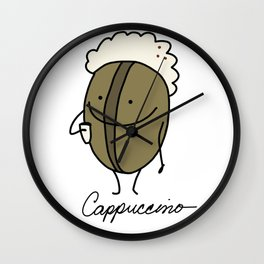 Cappuccino Wall Clock