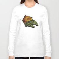 return Long Sleeve T-shirts featuring Return by Stuckey