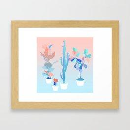 pots Framed Art Print