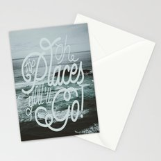 Oh the places you'll go! Stationery Cards
