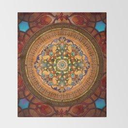 Mandala Arabia Throw Blanket