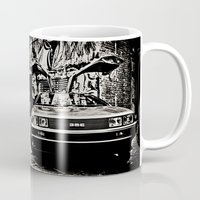 delorean Mugs featuring Delorean by SIMid