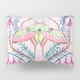 Chinese Moon Moth and Butterflies Pillow Sham