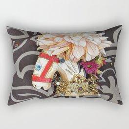 Dapple Grey the Shetland Pony Rectangular Pillow
