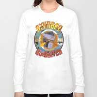 quidditch Long Sleeve T-shirts featuring AZKABAN QUIDDITCH TEAM VINTAGE by karmadesigner